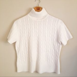 100 % Cashmere cable knit sweater